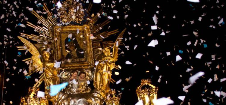 La Virgen del Milagro recorre todas las calles de Cocentaina